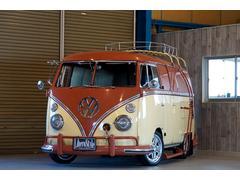 VW タイプIIパネルバン ダブルドア 内外装仕上げ済み トレーラー付き