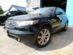 インフィニティ FX354WD 黒革シート HDD サンルーフ ETC 20AW