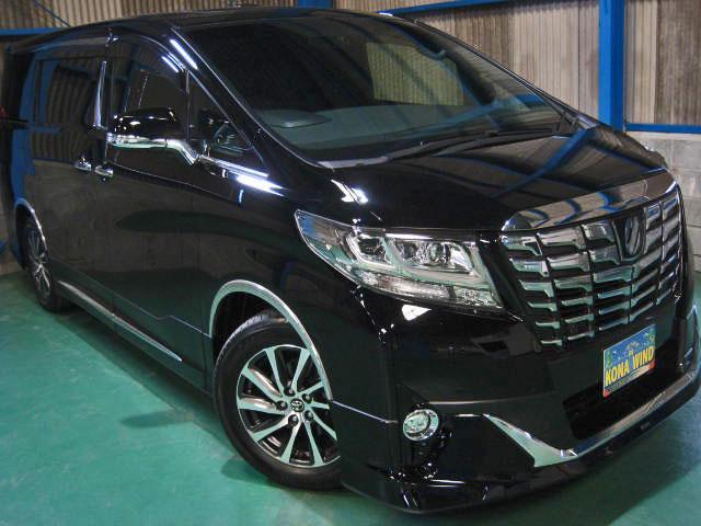 トヨタ 3.5エグゼクティブラウンジ4WD黒革WSRプリクラ17SP