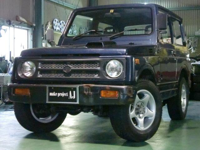 スズキ ランドベンチャー 4WD 背面タイヤ 社外アルミ 5MT