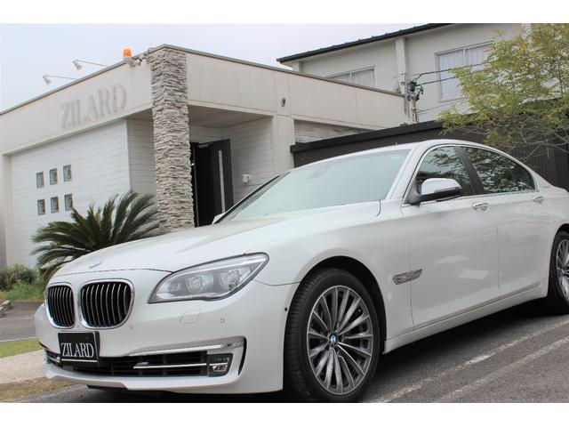 BMW 7シリーズ アクティブハイブリッド7 ブラックレザー サン...
