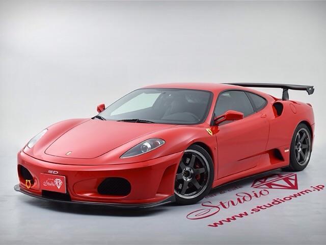 フェラーリ F1 RSDカーボン製エアロ 鍛造18AW 新車並行