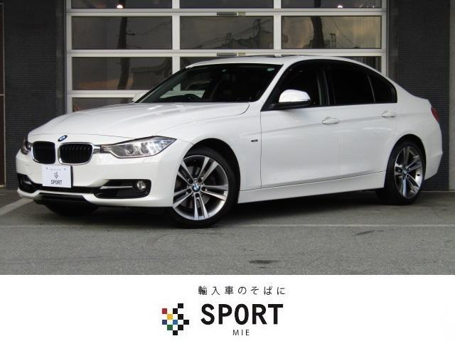 BMW 3シリーズ 328iスポーツ 本革 SR 純正HDDナビT...