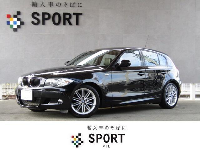 BMW 1シリーズ 116i Mスポーツパッケージ 黒革ハーフレザ...