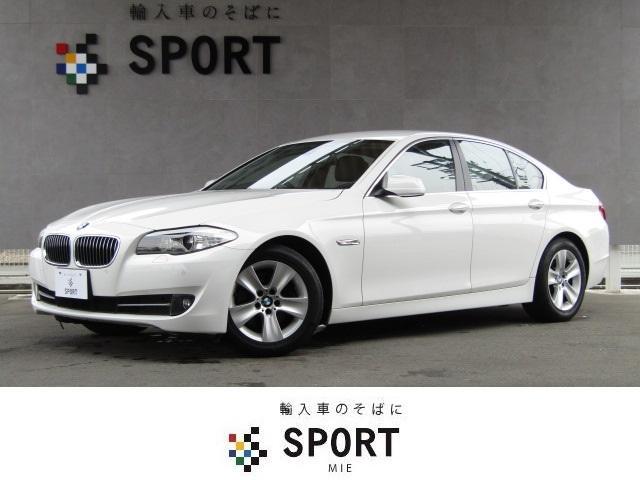 BMW 5シリーズ 528i 純正HDDナビ バックカメラ 黒革シ...