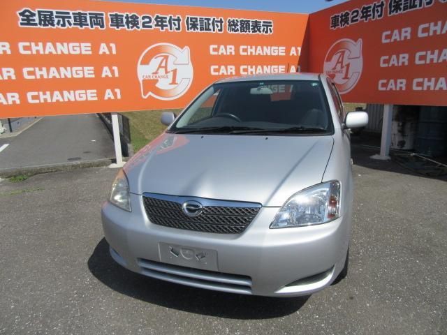 トヨタ X 4WD キーレス CD Goo鑑定車