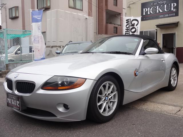 BMW Z4 2.2i 電動オープン HDDナビ フルセグ ETC...