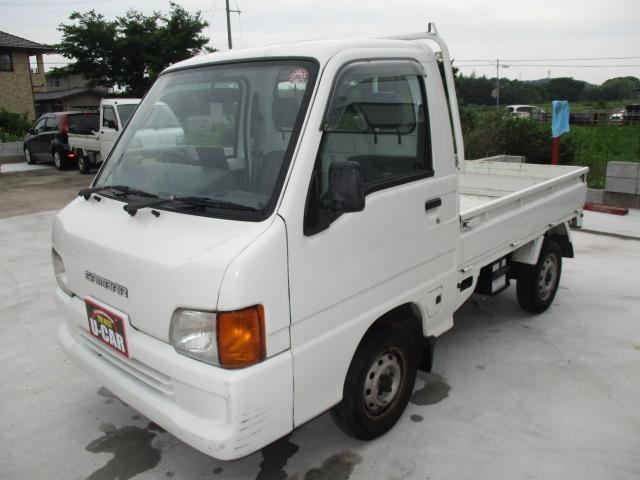 スバル サンバートラック 1オーナー車 エアコン  ナビ付き (車...