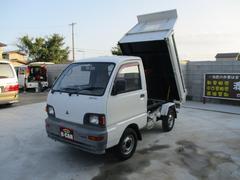 ミニキャブトラックダンプ  4WD  ミッション  PTO