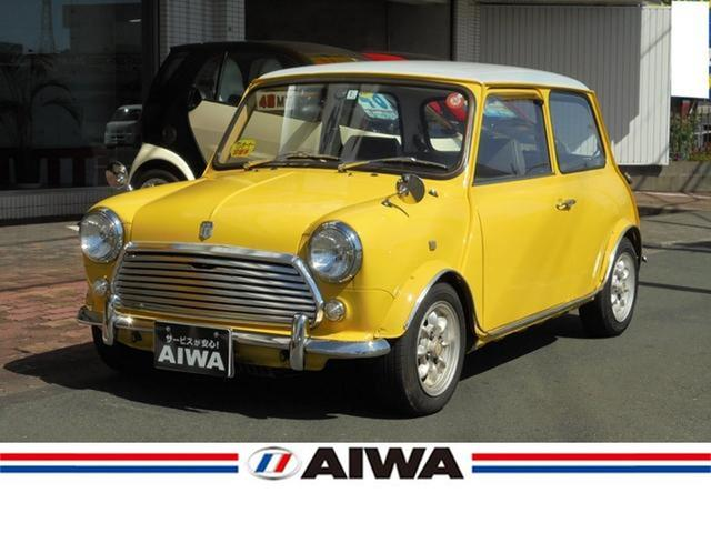 Rover Mini Mayfair 1989 Yellow Ii 97519 Km Details