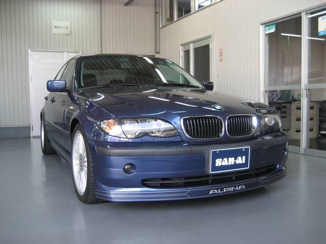 BMWアルピナ 3.3リムジン ワンオーナー HDDナビ 左H
