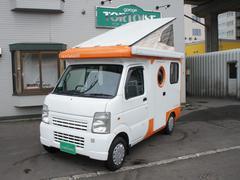 スクラムトラックキャンピングバンショップミカミ製テントむし4WD