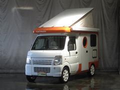 スクラムトラックKCバンショップミカミ製 テントムシ4WD FFヒーター