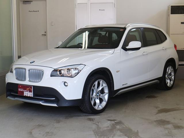BMW X1 xDrive 25i サンルーフ レザーシート (検...