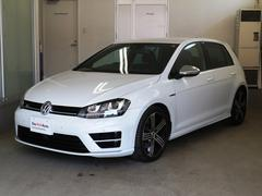 VW ゴルフRベースグレード ワンオーナー Aクルコン 認定中古車