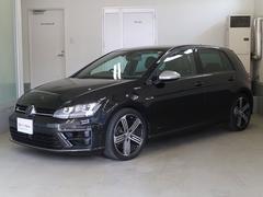 VW ゴルフRベースグレード ワンオーナー レザーシート 認定中古車