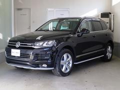 VW トゥアレグハイブリッド ワンオーナー エアサス Aクルコン