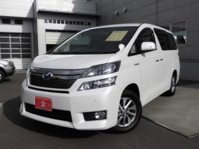 Photo of TOYOTA VELLFIRE HYBRID V / used TOYOTA