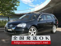 VW ゴルフヴァリアントTSI コンフォートライン 社外ナビTV