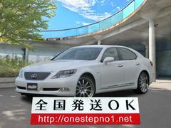 LSLS600h Iパッケージ 4WD エアシート ETC