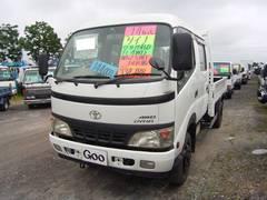 ダイナトラックWキャブロング 2t 4WD 平ボディ