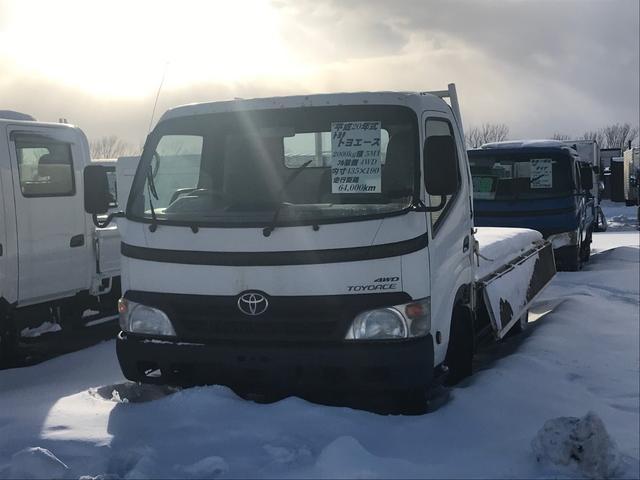 トヨタ 2t積ワイドロング 平ボディ 4WD