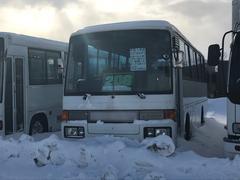 三菱ふそうエアロミディ 中型バス30人乗り ミクニ燃焼ヒーター