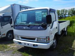 エルフトラック3t積 拡幅 ロング 平ボディ 6MT