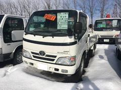 ダイナトラック1.35t積 平ボディ ターボ  4WD 寒冷地仕様
