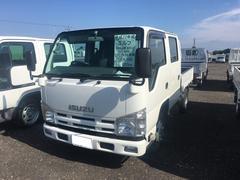 エルフトラック1.5t積 Wキャブ 平ボディ AT 4WD