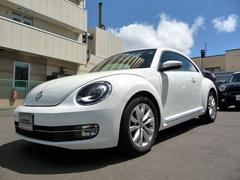 VW ザ・ビートルデザインレザーパッケージ ベージュ革シート シートヒーター