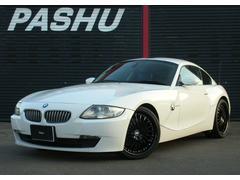 BMW Z4クーペ3.0siHDDナビ ブラック19AWハーフブルー本革