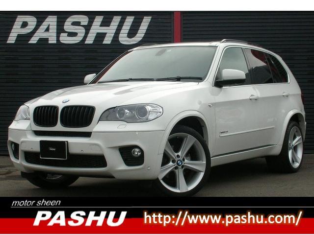 BMW X5 xDrive 35iMスポーツPK本革HDDナビSP...