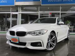 BMW420iクーペ Mスポーツ 1オーナー LED 19AW