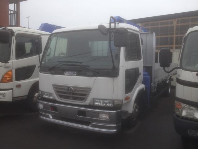 UDトラックス 7.0D 4段クレーン アウトリガー差違い