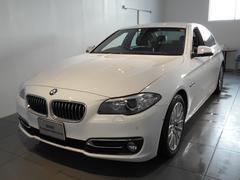 BMW523iラグジュアリー  レザーパーキングサポート 2年保証