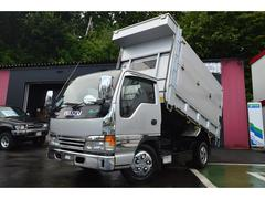 エルフトラック4.6ディーゼル 深ダンプ 土砂禁 エアコン PW ABS