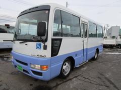 ジャーニーバス 福祉車両車椅子移動車 10人乗り 車いす4台固定(いすゞ)