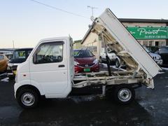 キャリイトラックダンプ 4WD MT デフロック パワステ エアコン CD