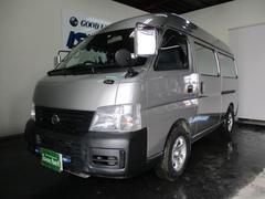 キャラバンキャンピング車 4WD ワンオーナー コラムAT 記録簿付