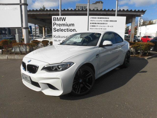BMW M2 BASE GRADE   2017   WHITE III   3,400 km   details - Japanese