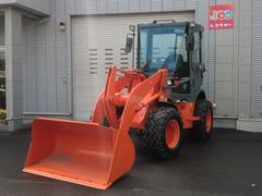 日本TCMホイールローダーZW40 0.7 除雪仕様車