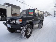 ランドクルーザー70ZX 4WD デフロック レカロ サンルーフ シュノーケル