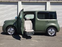 キューブ15S FOUR アシャンテ 4WD 助手席リフトアップ