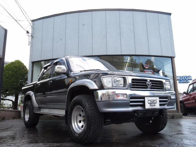 トヨタ ダブルキャブ SSR-X ワイド 4WD トノカバー付き