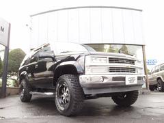 シボレー タホLT 4WD 本革シート HDDナビ バイパーセキュリティ