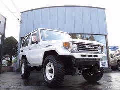 ランドクルーザー70LX 4WD デフロック ハイリフト