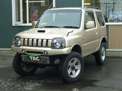 ジムニーワイルドウインド 4WD リフトアップ ナビTV