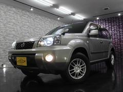 日産 エクストレイル S HDDナビTV 4WD インテリキー HIDライト 2.0L