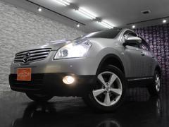 日産 デュアリス 20G FOUR HDDナビTV 4WD ガラスルーフ 2.0L